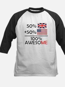 Half British Half American Baseball Jersey