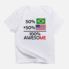 Half Brazilian Half American Infant T-Shirt