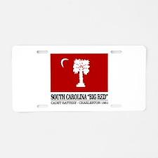South Carolina Big Red Aluminum License Plate