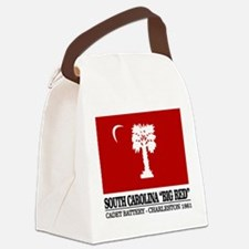 South Carolina Big Red Canvas Lunch Bag
