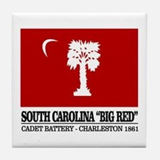 South Carolina Big Red Tile Coaster
