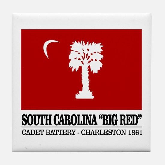 South Carolina Big Red Tile Coaster