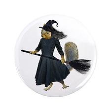"""Squirrel Witch 3.5"""" Button"""