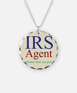IRS Agent Necklace