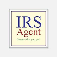 IRS Agent Sticker