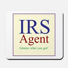 IRS Agent Mousepad