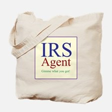 IRS Agent Tote Bag