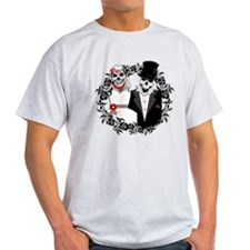 Skull Bride and Groom T-Shirt
