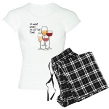 So Many Wines So Little Time Pajamas