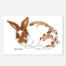 Adoptable Mini Rex Bunny Postcards (Package of 8)