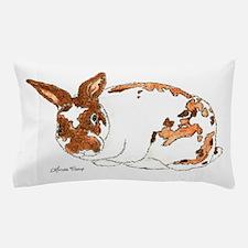 Adoptable Mini Rex Bunny Pillow Case