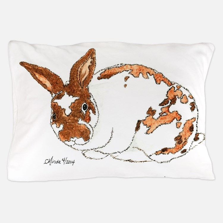 Adoptable Mini Rex Bunny Pillow Case