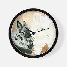 Lionheads Lola and Vito Wall Clock