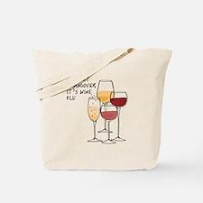 Its not a hangover its wine flu Tote Bag
