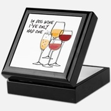 In Dog Wine Ive Only Had One Keepsake Box