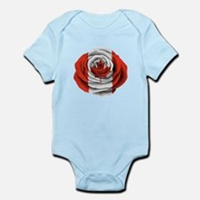Canadian Rose Flag Body Suit