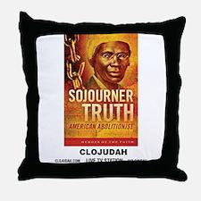 CLOJudah Sojourner Truth Throw Pillow