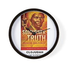 CLOJudah Sojourner Truth Wall Clock