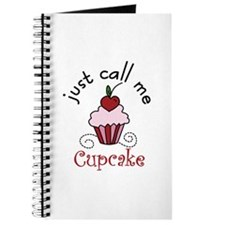 Just Call Me Cupcake Journal
