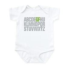 GF Alphabet Infant Bodysuit