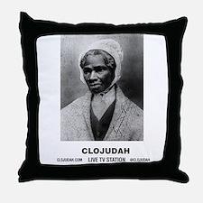 CLOJudah Sojourner Truth B/W Throw Pillow