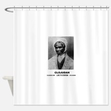 CLOJudah Sojourner Truth B/W Shower Curtain