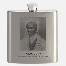 CLOJudah Sojourner Truth B/W Flask