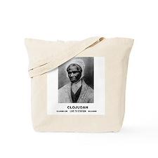 CLOJudah Sojourner Truth B/W Tote Bag