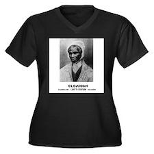 CLOJudah Sojourner Truth B/W Plus Size T-Shirt