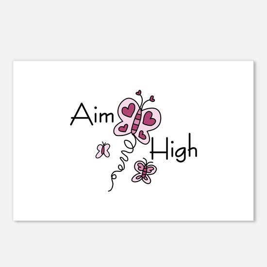 Aim High Postcards (Package of 8)