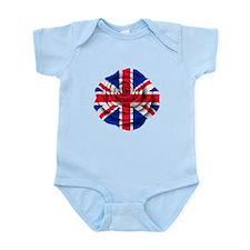 British Rose Flag Body Suit