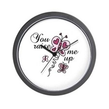 You Raise Me Up Wall Clock
