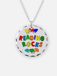 READING ROCKS Necklace