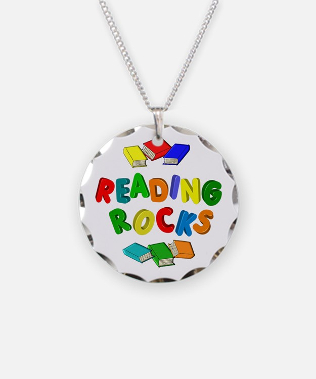 READING ROCKS Necklace