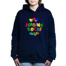 READING ROCKS Women's Hooded Sweatshirt