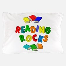 READING ROCKS Pillow Case