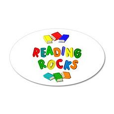 READING ROCKS Wall Decal