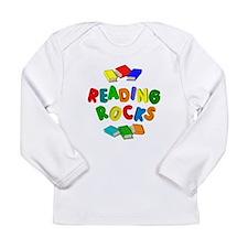 READING ROCKS Long Sleeve Infant T-Shirt