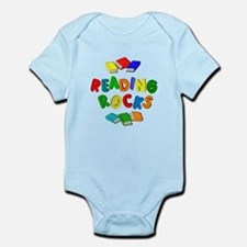 READING ROCKS Infant Bodysuit