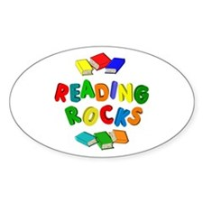 READING ROCKS Decal