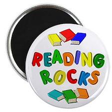 "READING ROCKS 2.25"" Magnet (10 pack)"