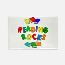 READING ROCKS Rectangle Magnet