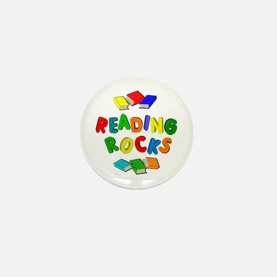 READING ROCKS Mini Button