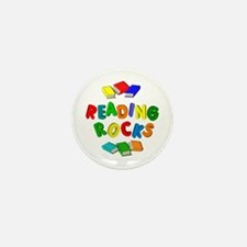 READING ROCKS Mini Button (10 pack)