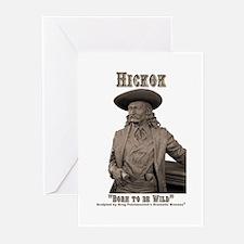 Wild Bill Hickok 03 Greeting Cards (Pk of 10)
