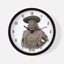 Wild Bill Hickok 03 Wall Clock