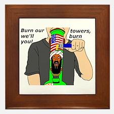 The Patriot Framed Tile