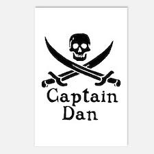 Captain Dan Postcards (Package of 8)