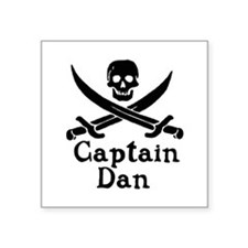 Captain Dan Sticker