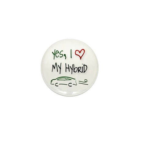 Hybrid Car Mini Button